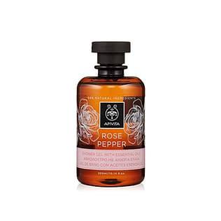 Apivita Rose Pepper Shower Gel