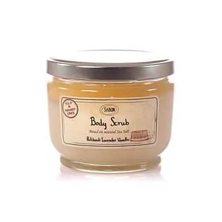 Sabon Body Scrub – Patchouli Lavender Vanilla