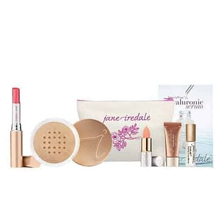 Jane Iredale Base Loose Mineral Powder + PureMoist Lip Stick Set