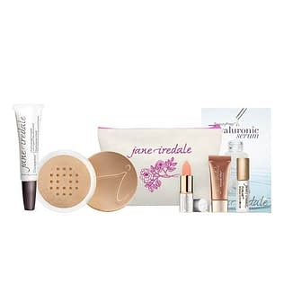 Jane Iredale Base Loose Mineral Powder + Disappear Set