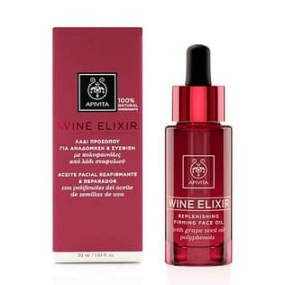 Apivita Wine Elixir Replenishing Firming Face Oil