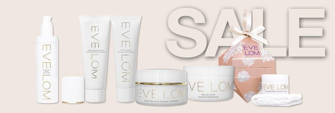 Eve Lom Sale Banner