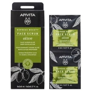 Apivita Express Beauty Facial Scrub Olive