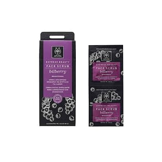 Apivita Express Face Scrub With Bilberry