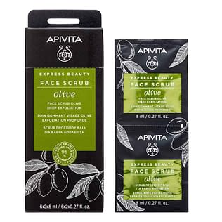 Apivita Express Beauty Facial Scrub Olive