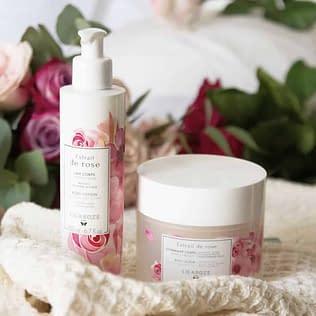 Lilaroze De Rose Body Care Set
