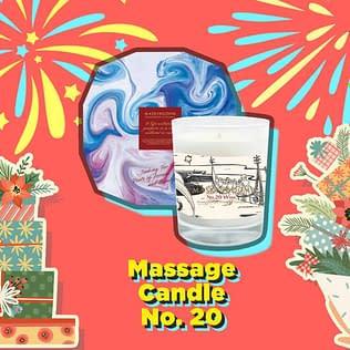 Maskingdom Aromatherapy Massage Candle