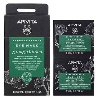 Apivita Express Beauty Eye Mask with Ginkgo