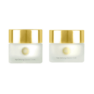 Pixel Golden Caviar Set (Cream+Mask)