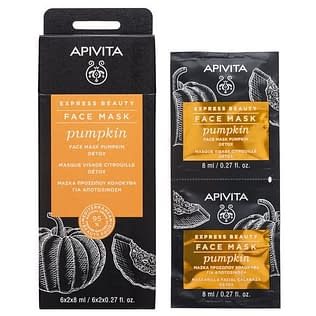 Apivita Express Beauty Face Mask with Pumpkin for Detox