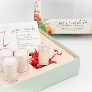 Jane Iredale Powder Me SPF30 Refillable Brush Promo Set