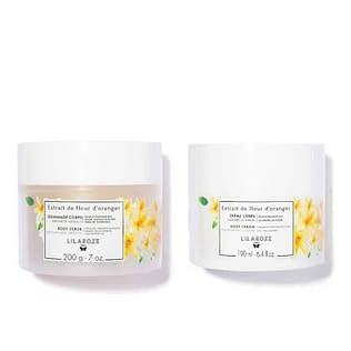 Lilaroze d' Orange Body Scrub and Cream Set