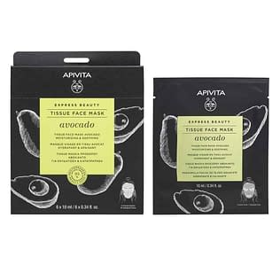 Apivita Express Beauty Tissue Face Mask with Avocado